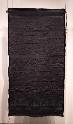 Kathy McTavish  Generative Textile Drawing No. 14, 2019