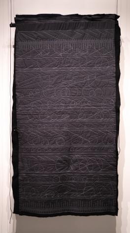 Kathy McTavish  Generative Textile Drawing No. 15, 2019