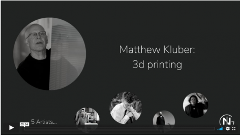 Matthew Kluber discusses 3D printing
