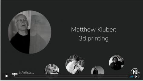 Matthew Kluber discusses 3D printing