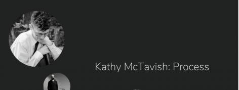 "Kathy McTavish on her ""process""of object based work"