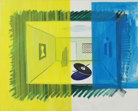 René Daniëls, Untitled (RD-S032), 1985-1987.
