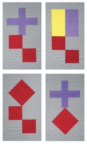 Ronald Jones geometrical design on paper