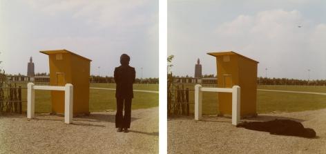 Studies for Westkapelle, Holland, 1971