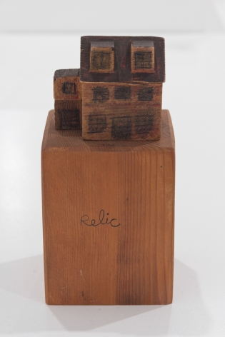 B. Wurtz sculpture 'Untitled (relic)'
