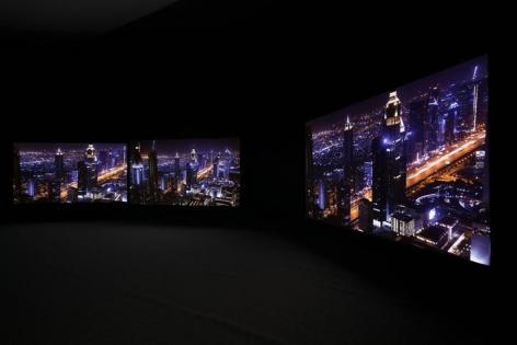 Playtime & Kapital. Installation view, 2016. Museo Universitario Arte Contemporáneo, Mexico City.