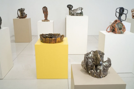 Sterling Ruby, KILN WORKS, 2008. Metro Pictures, New York.