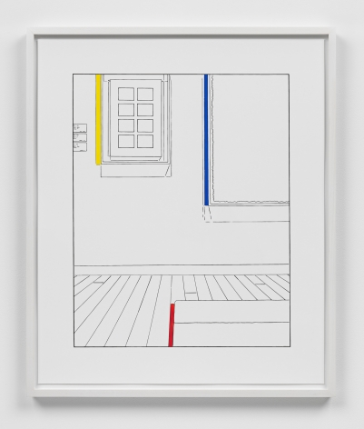 Louise Lawler work 'Life Expectancy (traced and painted), Second'