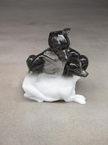 Oliver Laric - Hundemensch sculpture