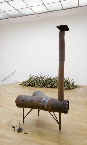 Roter Sand und ein gefundenes Gluck. Installation view, 2006. MMK Museum fur Moderne Kunst, Frankfurt.