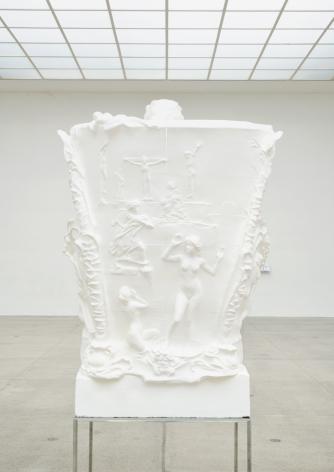 Oliver Laric - Beethoven sculpture on base