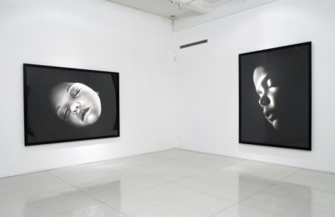 """Children of Nyx,"" installation view, 2007. Metro Pictures, New York."