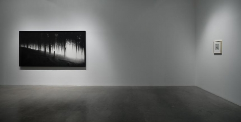 """Surrendering the Absolutes,"" installation view, 2009. Metro Pictures, New York."