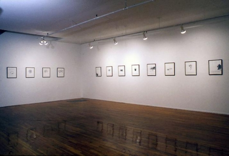 """Dreams That Money Can Buy You,"" installation view, 1993. Metro Pictures,  New York."