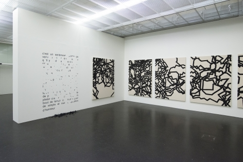 Restart. Installation view, 2015. Lentos Kunstmuseum Linz, Austria.