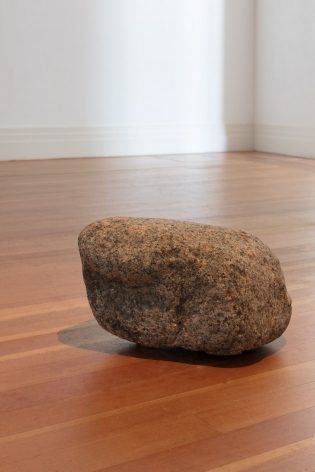 Philippe Parreno, La pierre qui parle (The Speaking Stone), 2018.