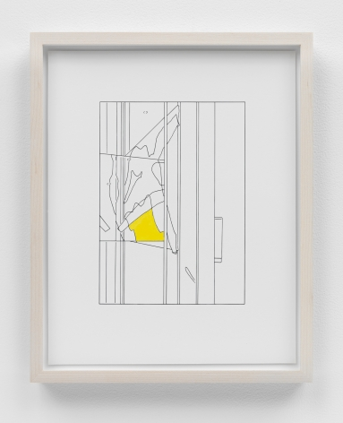 Louise Lawler work 'Water to Skin (traced and painted), Second'