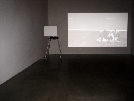 David Maljkovic, Out of Projection, 2009. HD Video. MP F-5