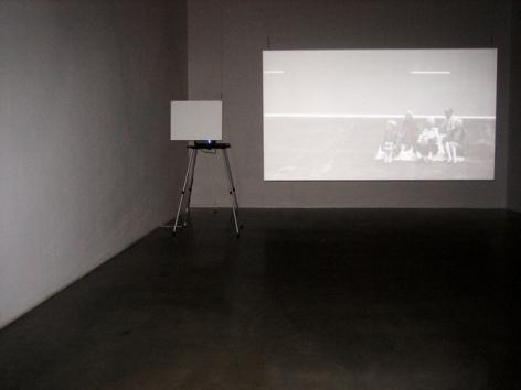 David Maljkovic, Out of Projection, 2009. HD Video. MP F-5