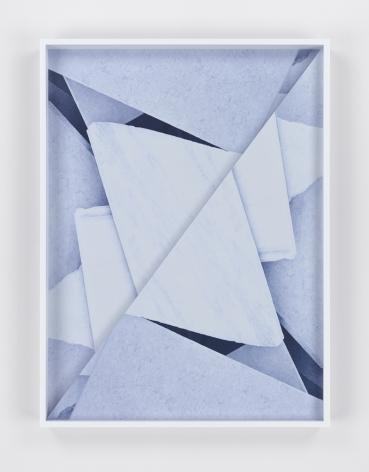 Chance, 2015. 2 Digital C-prints, 24 x 17 3/4 inches (61 x 45.1 cm).