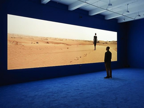 """""""PLAYTIME,"""" installation view, 2013. Metro Pictures, New York."""