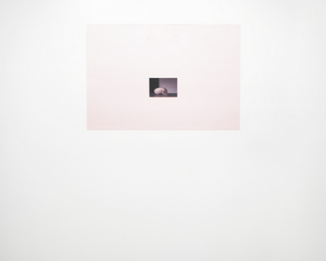 Civilian (Adjusted to fit), 2010/2011. Adhesive wall vinyl, image altered to conform to the proportions of a wall. MP 652-A