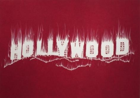 Gary Simmons Hollywood, 2008