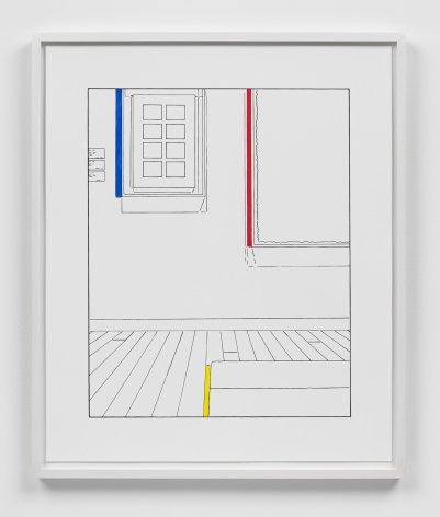 Louise Lawler work 'Life Expectancy (traced and painted), Third'