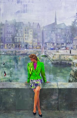 Paulina Olowska painting 'Gdansk 2000'