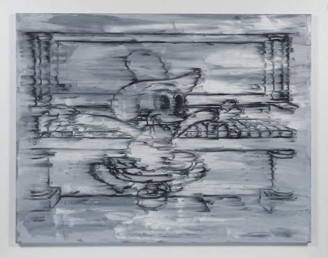 Gary Simmons - Piano Man Painting
