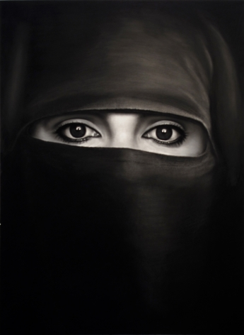 Untitled (Pascale in a Burka), 2011.