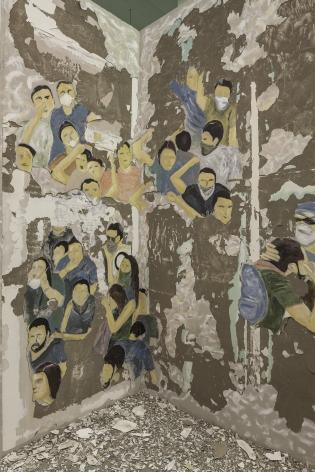 Taqsim, 2017. Fresco.