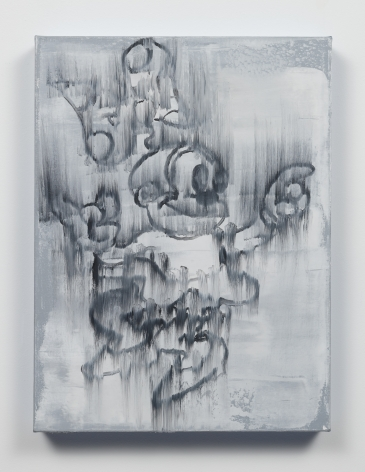 Gary Simmons - Untitled painting