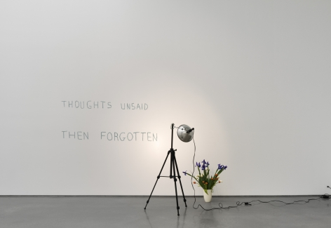 Thoughts unsaid, then forgotten, 1973