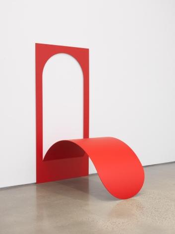Judith Hopf, Tongue as a wall piece, 2019.