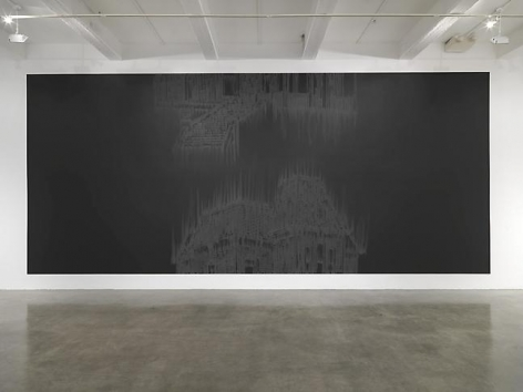 """Midnight Matinee,"" installation view, 2010. Metro Pictures, New York."