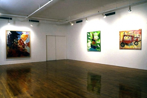 """Pictures of an Exhibition, Part 2,"" installation view, 1994. Metro Pictures, New York."