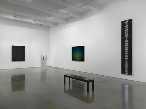 Trevor Paglen. Installation view, 2015. Metro Pictures, New York.