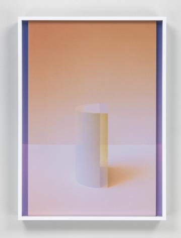 Setting Sun I, 2017. 2 digital C-prints, 20 x 14 1/2 inches (50.8 x 36.8 cm).