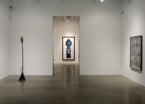 Group Exhibition, 2009, installation view. Metro Pictures, New York.