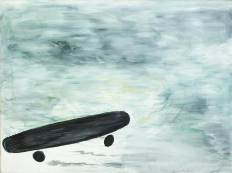 Avenue Plantage Moyen, 1980. Oil on canvas, 48 x 62.5 in (120 x 160 cm). MP 4