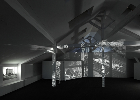 Studio A (From the work Studio A, 2008 – 2009), 2008. Installation view, KW Institute for Contemporary Art, Berlin