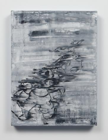 Gary Simmons - Running Away painting