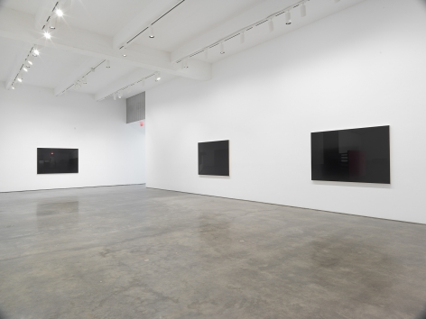 LIGHTS OFF, AFTER HOURS, IN THE DARK. Installation view, 2021. Metro Pictures, New York.