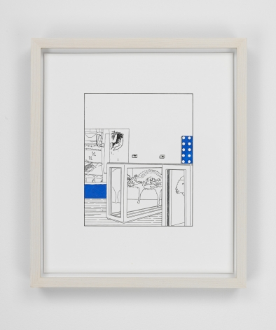 Louise Lawler work 'Dots and Slices (traced and painted), Third'