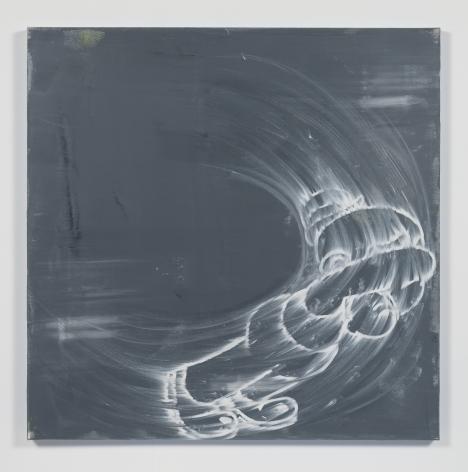 Gary Simmons - Red Light, Green Light painting