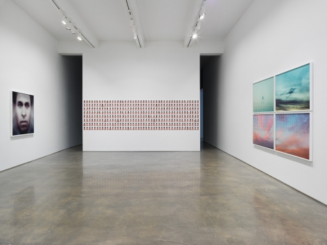 A Study of Invisible Images. Installation view, 2017. Metro Pictures, New York.