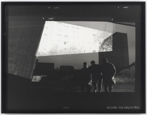 Recalling Frames, 2010. Black & white photograph, 42 1/2 x 55 inches (108 x 139.7 cm).