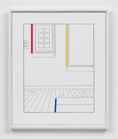 Louise Lawler work 'Life Expectancy (traced and painted), First'