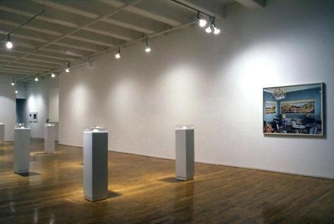 """External Stimulation,"" installation view, 1994. Metro Pictures, New York."